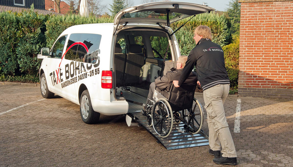 Taxe Borkus - Rollstuhl-Taxi